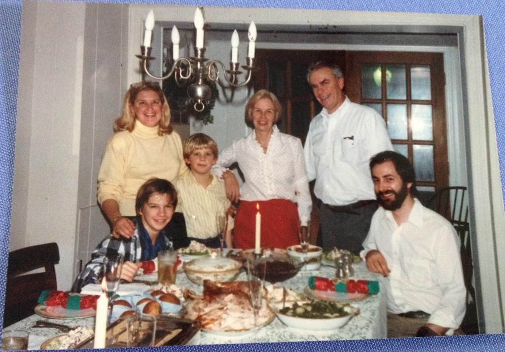 1980s Bonnie Caldwell, her kids, Joyce, Dana, Peter.