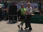 Father Sean dancing with (I don't know who)