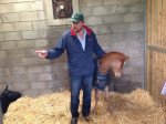 Richard tells the other foal to behave