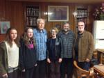 Josie, Fionnuala, Fr. PJ. Aingeal, Fr. Michael, Peter