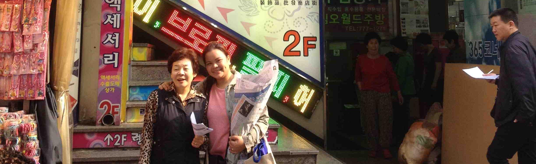 2014-04-23 Namdaemun w Mrs Kim 11 banner