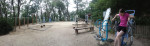 Exercise area 2.5 km from home