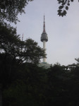 Approaching Namsan Tower
