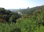 Approaching Namsan Mountain.