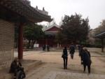 ... Seoul DongGwanWangMyo Shrine.  Guan Yu's shrine is in the locked building in the background.