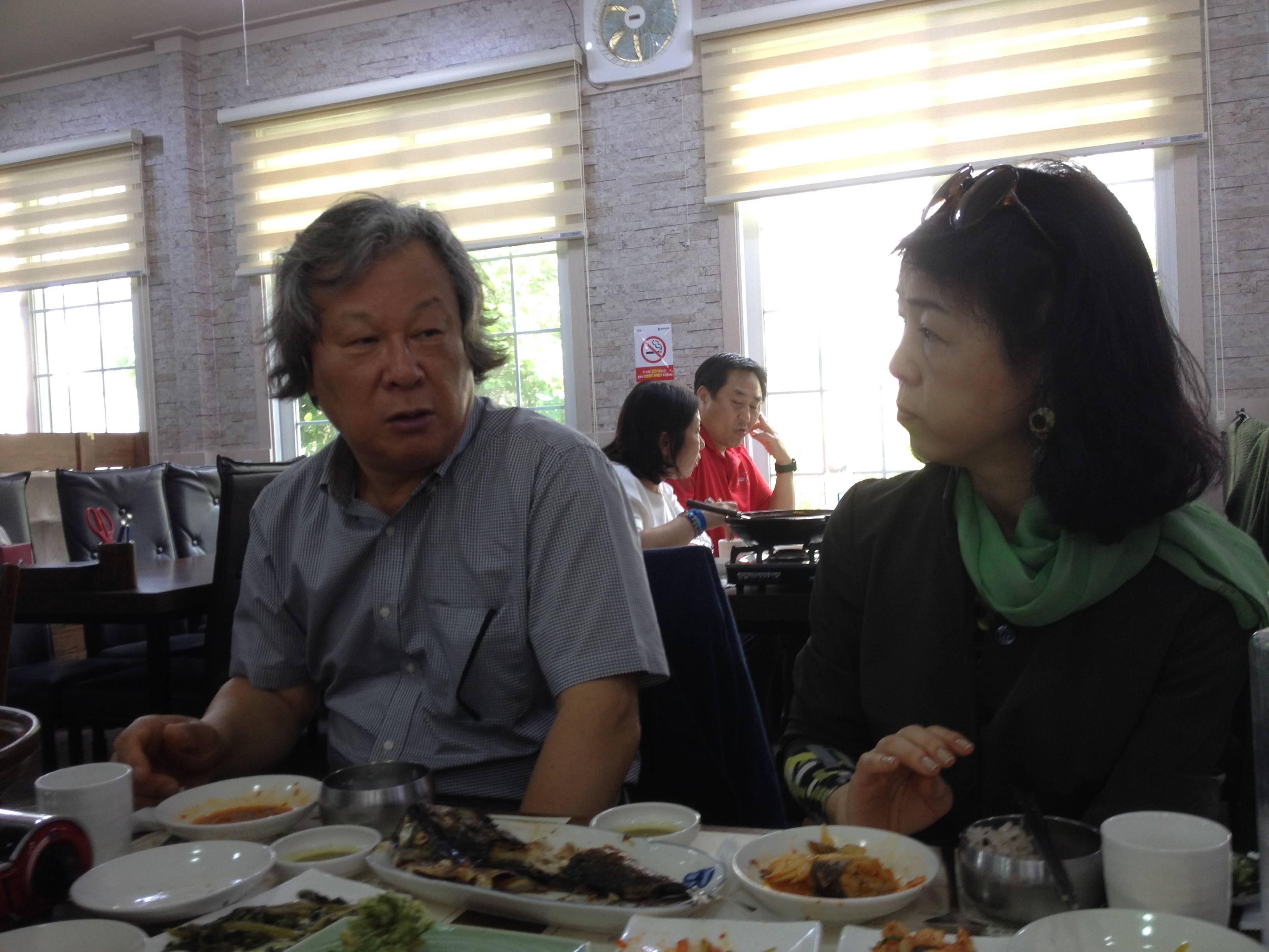 Lunch with HanGwa Master Kim